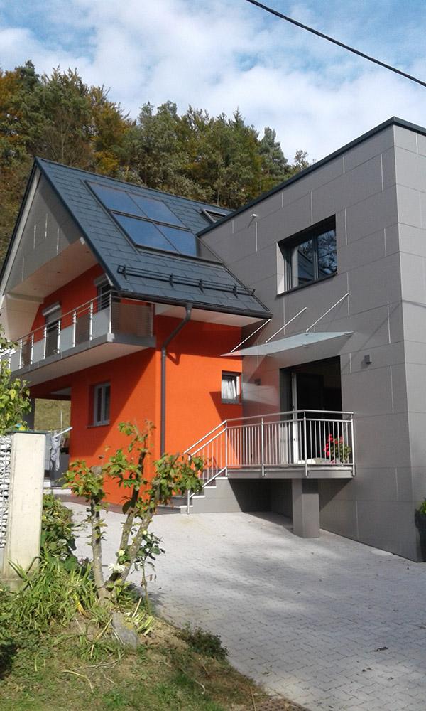 Dachdecker und Fassadenbekleidung